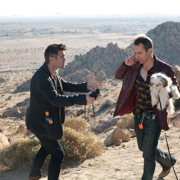 Colin Farrell and Sam Rockwell star in Seven Psychopaths