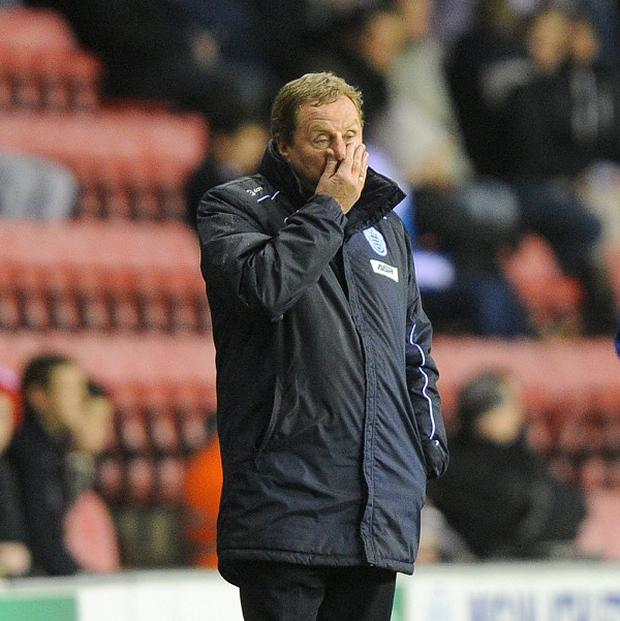 Harry Redknapp doesn't believe QPR should invest unless they start winning