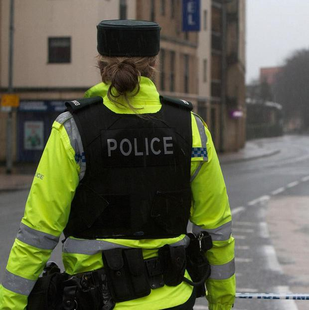 Police are investigating after a letter bomb was found in a postbox in Clough, Co Down