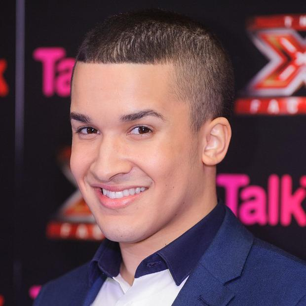 Jahmene Douglas will battle it out with James Arthur for the X Factor crown