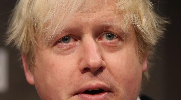 London Mayor Boris Johnson wants the UK to strip back its participation with Europe
