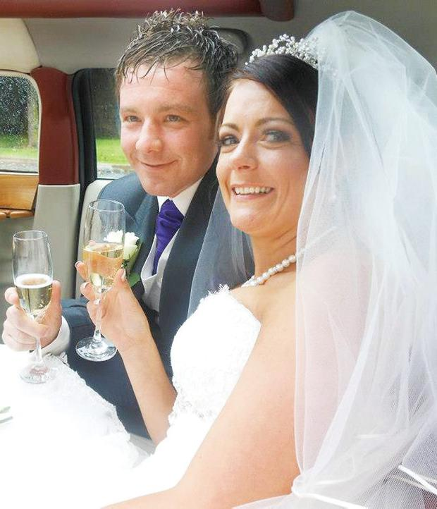 RICHARD and Michelle McNeilly knew each other at school but didn't fall in love until they connected years later on Facebook. Richard (31) and Michelle (32) from Newtownards, Co Down attended Movilla High School together as youngsters.