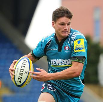Freddie Burns scored a try and also kicked two conversions and five penalties