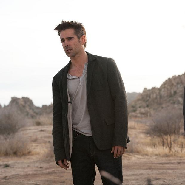 Colin Farrell stars in Seven Psychopaths