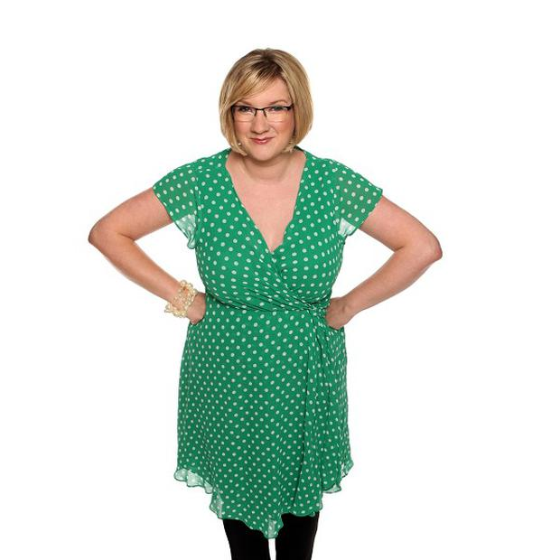 Sarah Millican writes down funny things that have happened to her to use in her comedy routines