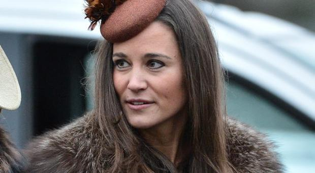 Pippa Middleton who was one of the guests at the wedding of Alex Roupell and Emma Logue in Holywood, Co Down