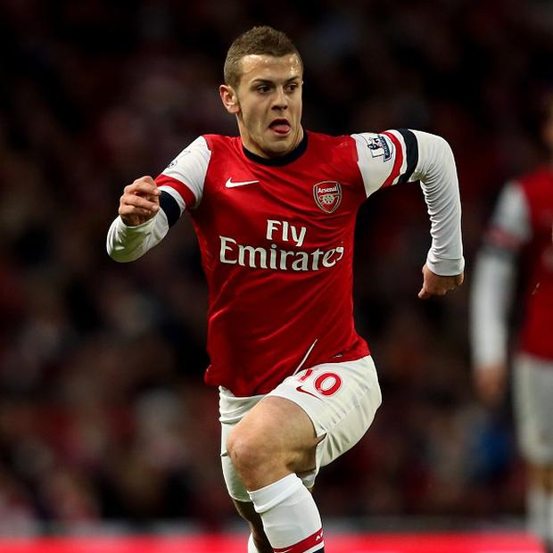 Jack Wilshere hopes he can soon show his full potential on the pitch once fully fit