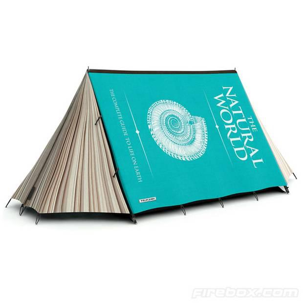 1. 'Fully Booked' tent by Field Candy, £495, Firebox