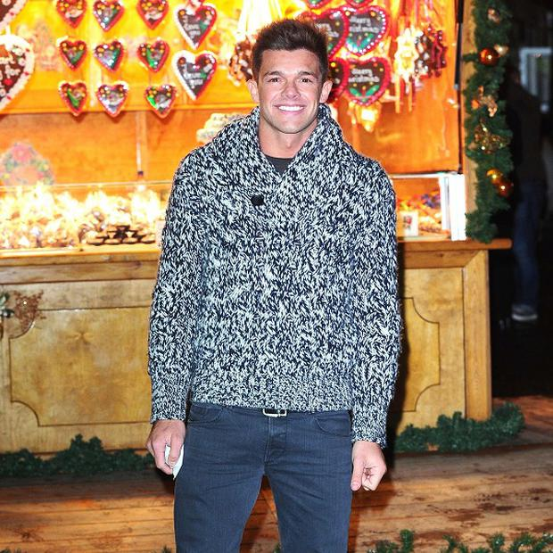 Leandro Penna is learning to dive for a new TV show