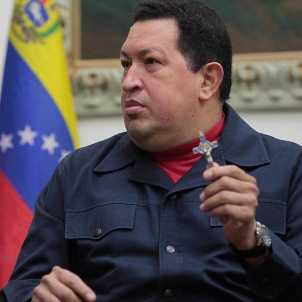 Hugo Chavez announced on Saturday that his cancer had returned (AP)
