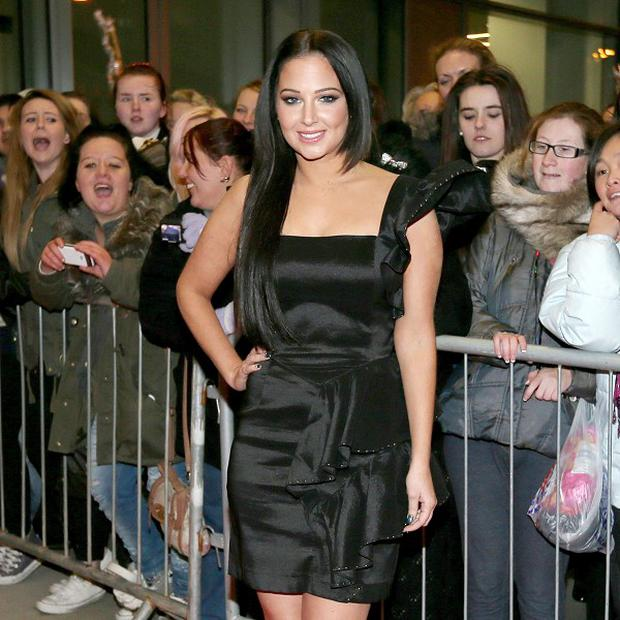 Tulisa Contostavlos said making an album without her N-Dubz bandmates was daunting