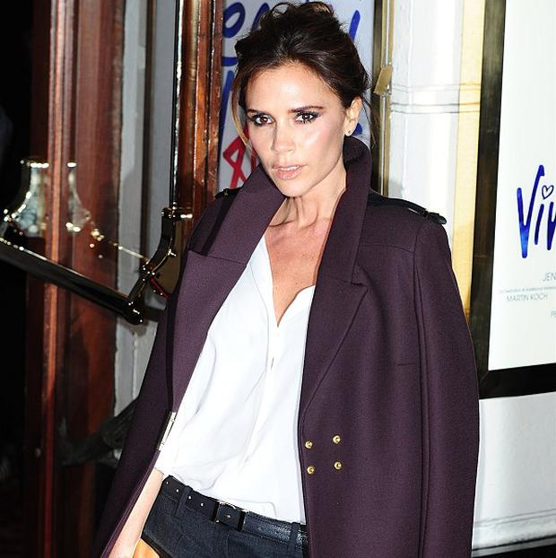 Victoria Beckham was singing and dancing in the loo at the Viva Forever! after party