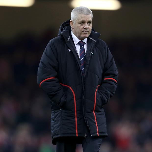 Warren Gatland will coach the British and Irish Lions next summer