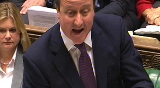 Prime Minister David Cameron has criticised violent protests which have taken place in Belfast over recent days