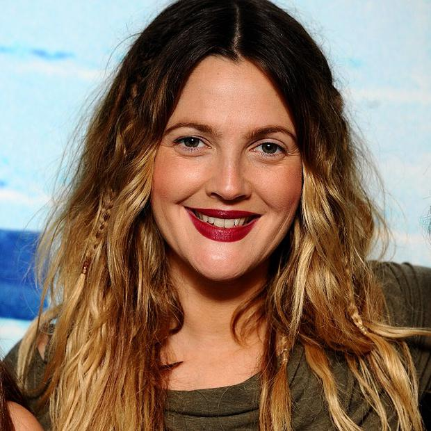 Drew Barrymore is proud mum to baby Olive