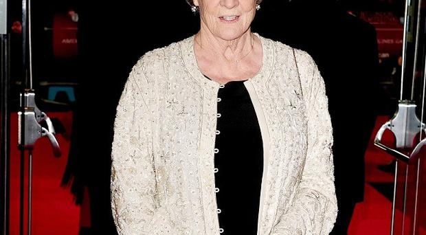 Dame Maggie Smith is up for a Golden Globe for her Downton Abbey performance