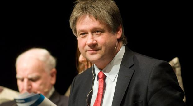 UUP leader Mike Nesbitt accused Basil McCrea (pictured) of lacking self-discipline and the ability to work as a team following a dispute with his party over the flying of the flag at Stormont
