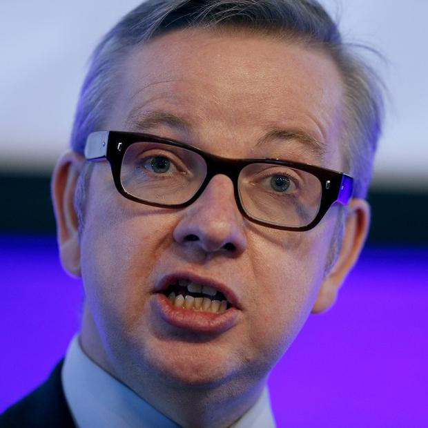 Education Secretary Michael Gove said 40 per cent of pupils fail to gain even the most basic GCSE qualification in maths