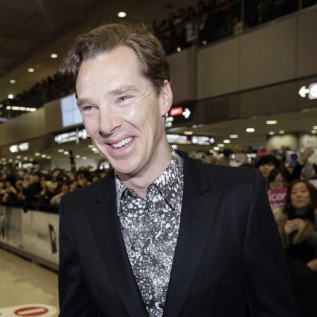 Benedict Cumberbatch introduced a preview screening of part of the new Star Trek movie