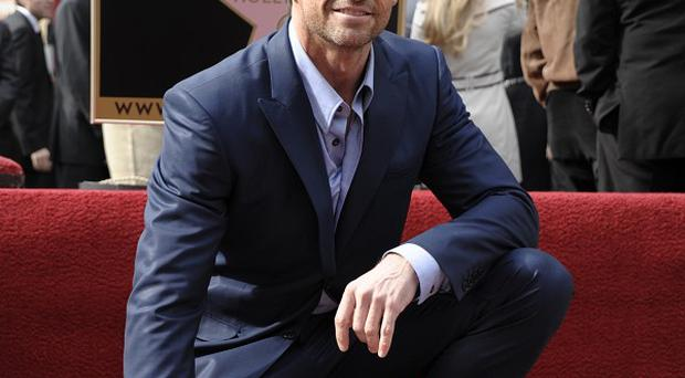 Hugh Jackman has been honoured with a star on the Hollywood Walk of Fame