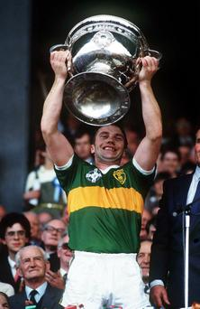 Páidí ó Sé won eight All-Ireland titles as a player