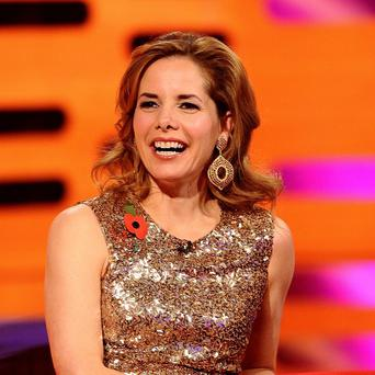Darcey Bussell has said she finds it odd to sit behind a desk on Strictly Come Dancing