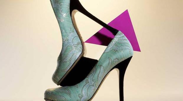 Shoes by Rupert Sanderson, £660, Browns Fashion