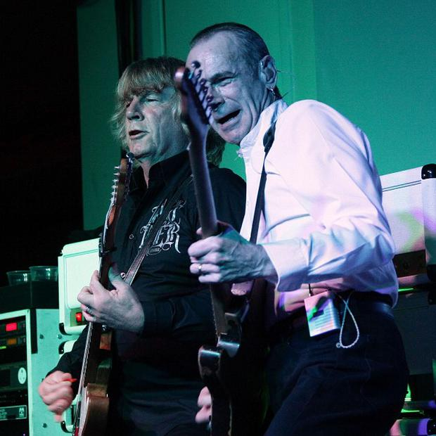 Rick Parfitt and Francis Rossi of Status Quo are reuniting with former members of the band