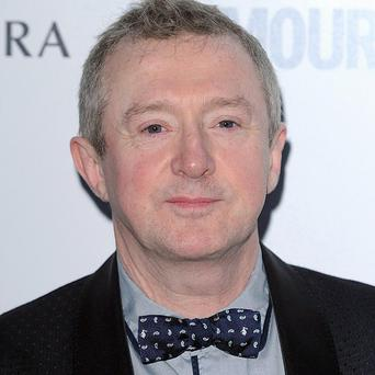 Lorna Bliss sat astride Louis Walsh on The X Factor