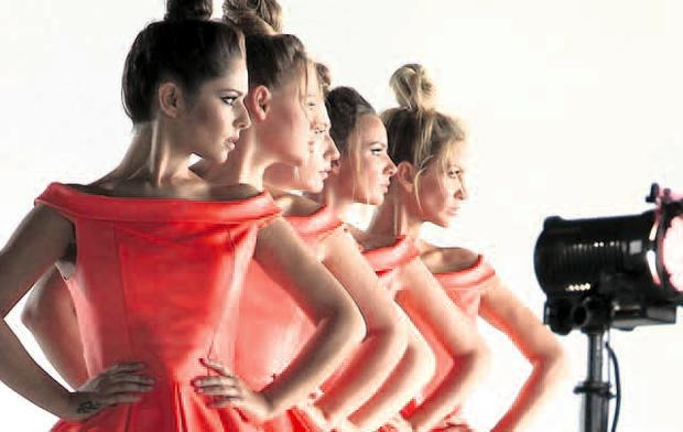Concerted effort: tickets for Girls Aloud are up for grabs in the online charity auction