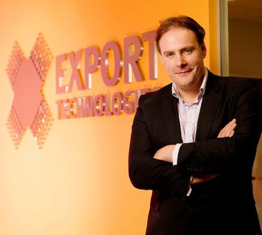 Export Technologies chief executive and founder Daniel Loughlin