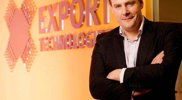 Export Technologies chief executive and founder Daniel Loughlin revealed that the successful e-commerce firm has plans to expand beyond the Northern Ireland market