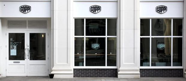 Coppi Restaurant in St. Anne's Square, Belfast.
