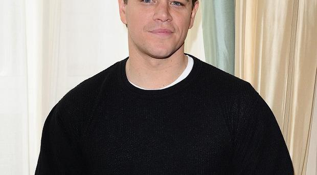 Matt Damon said he didn't want to 'offend anyone' by denying gay rumours
