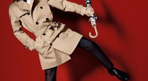 Romeo Beckham features in the Burberry Spring Summer 2013 campaign