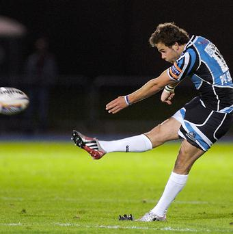 Ruaridh Jackson missed a penalty as Glasgow were defeated by Castres