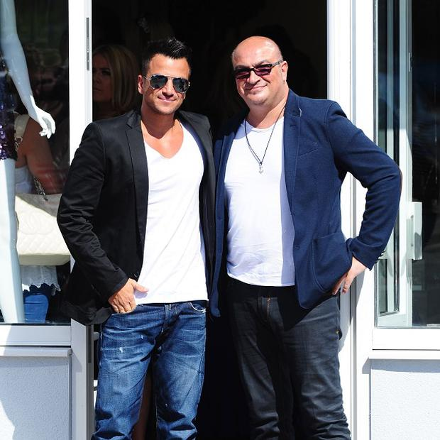 Peter Andre is mourning the death of his brother Andrew