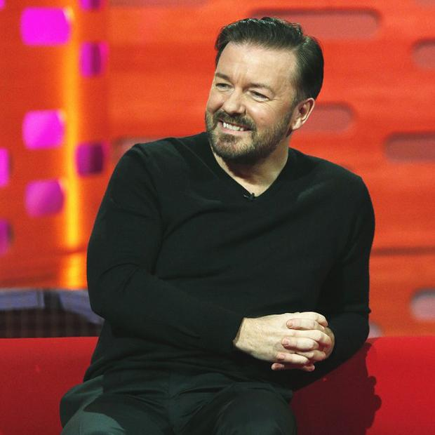 Ricky Gervais is being linked to a Muppets sequel