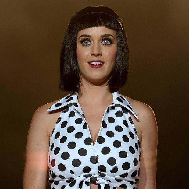 Katy Perry has reportedly congratulated ex Russell Brand on being free of drugs for 10 years