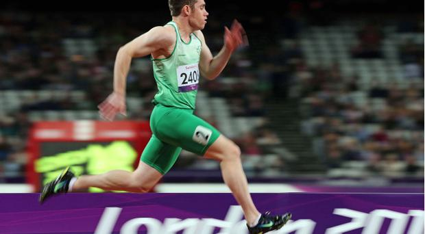 Jason Smyth defended his 100m and 200m titles at London 2012