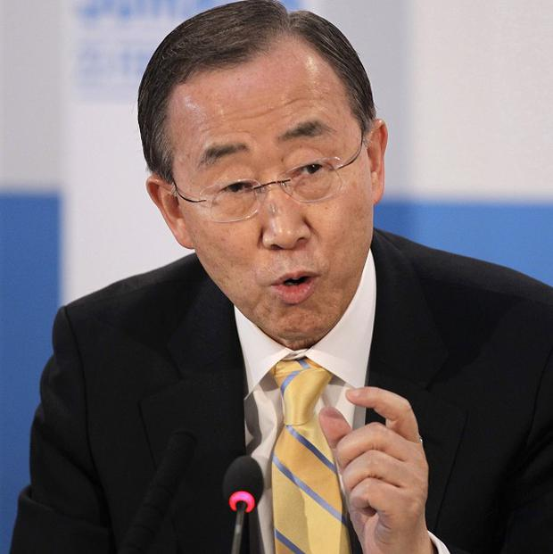 A UN Security Council resolution asks Secretary-General Ban Ki-moon to approve a military offensive in Mali
