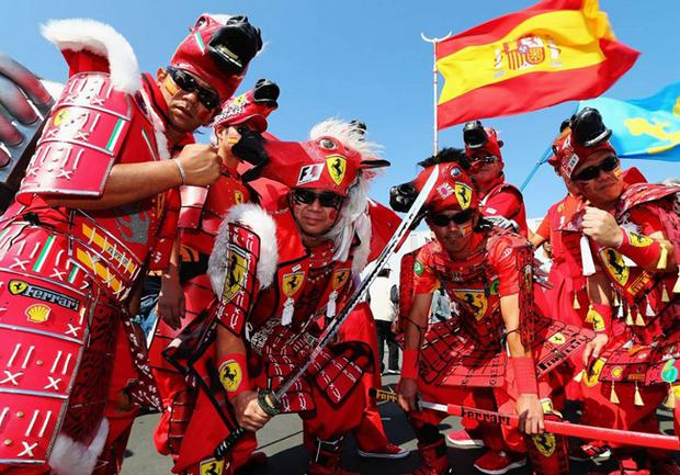Ferrari fanatics enjoying the Japanese Grand Prix last season but the team believe scenes like these are all too rare