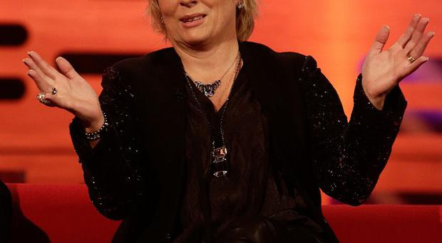 Jennifer Saunders enjoyed a dinner date with Dolly Parton