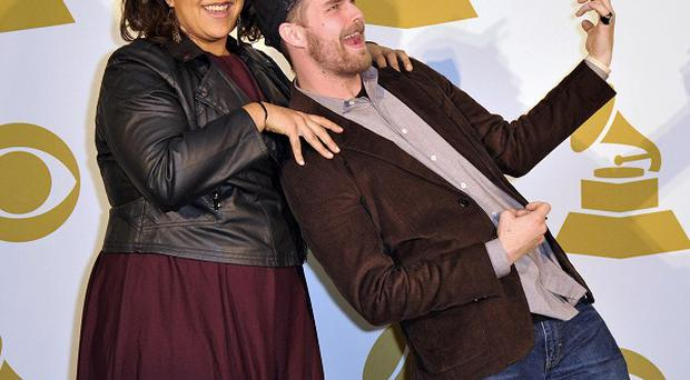 Brittany Howard, left, and Steve Johnson of Alabama Shakes (Donn Jones/Invision/AP)