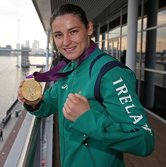 Katie Taylor won lightweight gold at London 2012