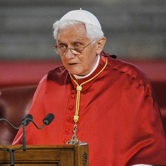 Pope Benedict XVI has launched a new attack on gay marriage