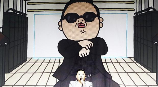 South Korean rapper PSY has set a YouTube record (AP)