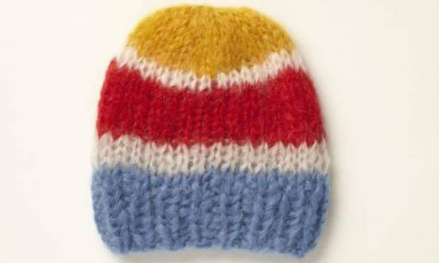 """<b>1. Mohair hat, £65, YMC, youmustcreate.com</b><br/> This chunky cap has a """"knitted by nana"""" charm to it. That's because the Berlin-based, upcoming knitwear-brand Maimi make all of its cosy hats by hand."""