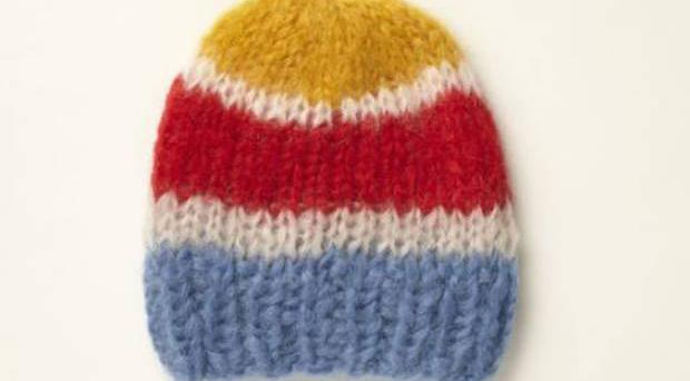 "<b>1. Mohair hat, £65, YMC, youmustcreate.com</b><br/> This chunky cap has a ""knitted by nana"" charm to it. That's because the Berlin-based, upcoming knitwear-brand Maimi make all of its cosy hats by hand."
