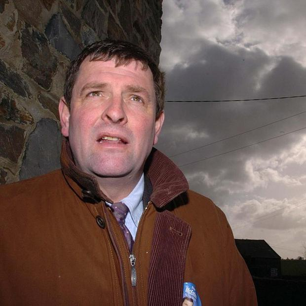 Fine Gael TD for Meath Shane McEntee has died